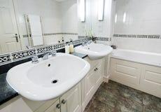 семья ванной комнаты Стоковые Изображения RF