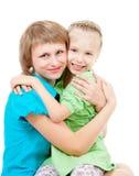 семья детей Стоковые Изображения RF