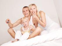 Семья дома Стоковое Изображение RF