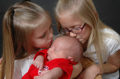 семья, котор нужно приветствовать Стоковая Фотография