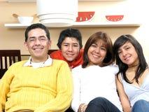 семья красотки Стоковое Изображение