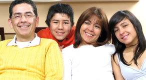 семья красотки Стоковая Фотография RF