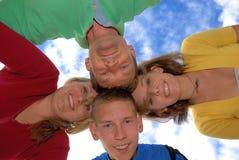 семья круга Стоковое Фото