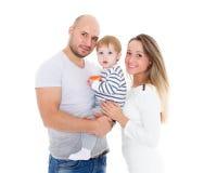 семья младенца счастливая Стоковые Изображения