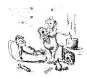 семья несчастная бесплатная иллюстрация