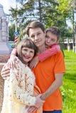 Семья отец и сын матери Стоковое Фото