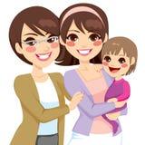 Семья поколения детенышей 3 иллюстрация штока