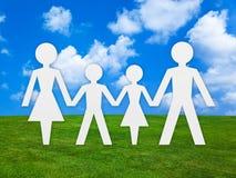 семья принципиальной схемы стоковое изображение rf