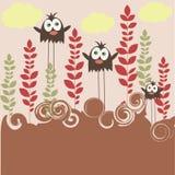 семья птицы Стоковые Фото