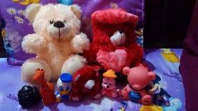 Семья плюшевого медвежонка Стоковая Фотография