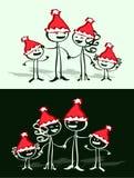 семья рождества бесплатная иллюстрация