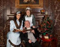 семья рождества Стоковая Фотография RF