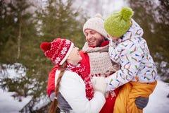 семья симпатичная Стоковые Фотографии RF
