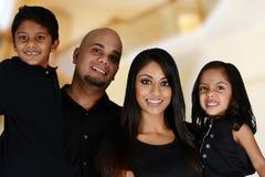 Семья совместно стоковые фотографии rf