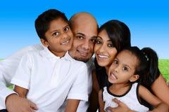 Семья совместно стоковая фотография