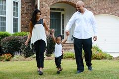 Семья совместно стоковое изображение rf