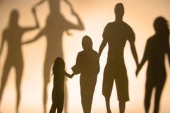 семья соединения Стоковая Фотография RF