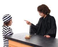 семья суда Стоковое Изображение RF
