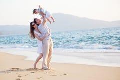 семья счастливая Стоковая Фотография