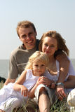 семья счастливая Стоковые Изображения