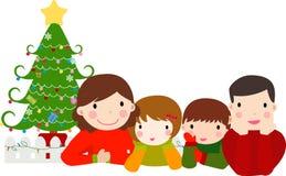 семья счастливая бесплатная иллюстрация