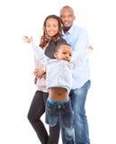 семья счастливое одно стоковая фотография