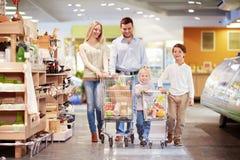 Семья с дет Стоковая Фотография RF