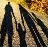 Семья тени стоковое фото rf