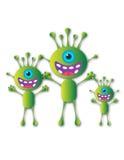 Семья чужеземца Стоковое Фото