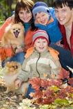 семья любя совместно стоковое фото rf