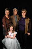 семья Стоковая Фотография RF