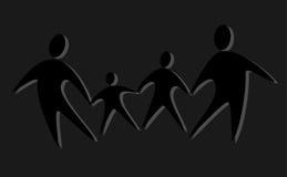 семья 6 Стоковые Изображения