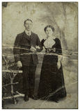 семья cossacks Стоковое фото RF