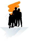 семья eps Бесплатная Иллюстрация