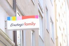 Семья Ernsting Стоковое Изображение
