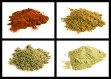 Семя анисовки, паприка, розмариновое масло, шалфей Стоковое Фото