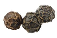 Семя перца на белой изолированной предпосылке Стоковые Фото