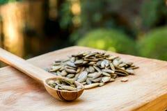семя тыквы Стоковое фото RF