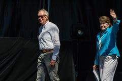 Сенаторы Reid & Feinstein на двадцатом ежегодном саммите 2 Лаке Таюое Стоковое Изображение RF