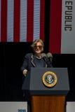 Сенатор Барбара Боксер на двадцатом ежегодном саммите 1 Лаке Таюое Стоковая Фотография