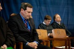 Сенатор Джо Donnelly Соединенных Штатов Стоковые Изображения RF