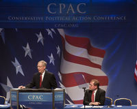 сенатор 2011 mitch mcconnell cpac Стоковые Фотографии RF