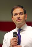 Сенатор Marco Rubio кандидата в президенты стоковое изображение