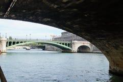 Сена в Париже - Франции Стоковые Фотографии RF