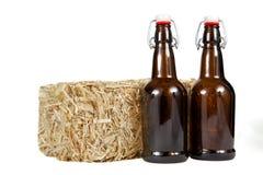 Сено и пиво Стоковое Изображение RF