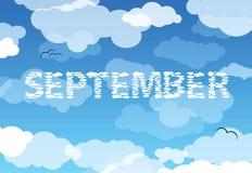 сентябрь Стоковое Фото