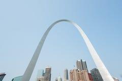 Сент-Луис, архитектура, и известный свод, Миссури, США Стоковое Изображение