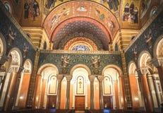 Сент-Луис Миссури: 7-ое ноября 2018; Базилика собора Сент-Луис стоковые фото
