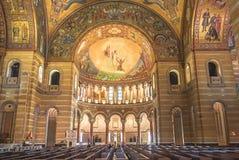Сент-Луис Миссури: 7-ое ноября 2018; Базилика собора Сент-Луис стоковое фото rf