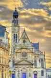 Сент-Этьен du Mont Церковь в Париже, Франции Стоковая Фотография RF